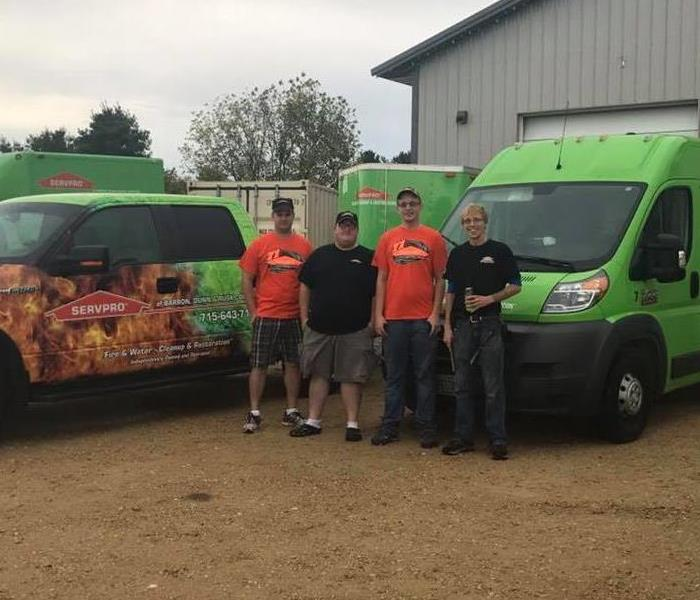 Storm Damage SERVPRO Teams were out for Hurricane Irma cleanup